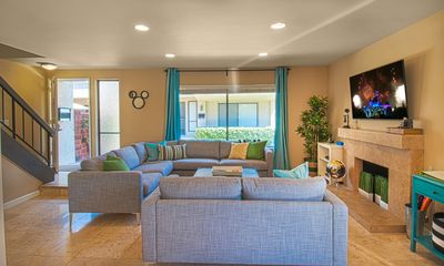 Living Room - with enough seating for the entire family!