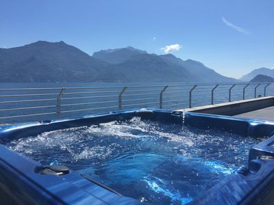 Photo for Villa Navalia - Marina - Lake Como - Menaggio - Villa Directly On The Lake.