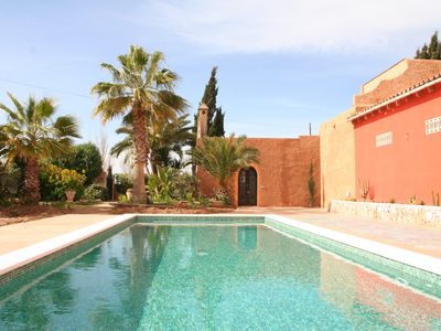 Photo for El Palomar with beautiful patio, pool and free wifi