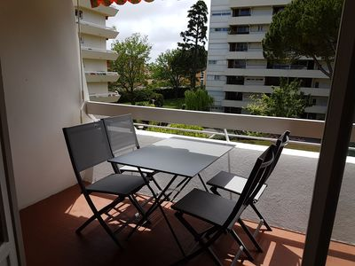 Photo for Nice apartment well placed quiet with meals outside facing greenery