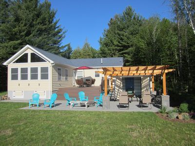 Photo for Secluded/Quiet Renovated Lakefront Cottage For Families/No Large Groups,Sleep 10