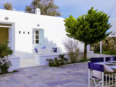 Photo for Mykonos relaxing apartment with free parking