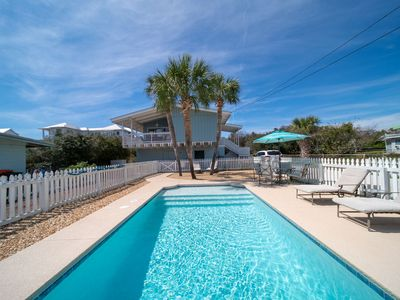 Photo for Paradise30a~ Cool Breeze, Private Pool, Dog Friendly, 2 Bikes & 1 Beach Chair Set-Up Included!