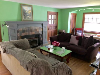 Photo for Spacious Village House with hot tub, private cottage and sky loft. Skiing nearby
