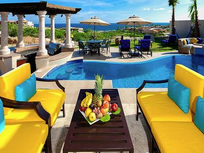 Photo for LUXURY OCEAN FRONT VILLA, PRIVATE POOL & SPA, PERFECT FOR FAMILIES