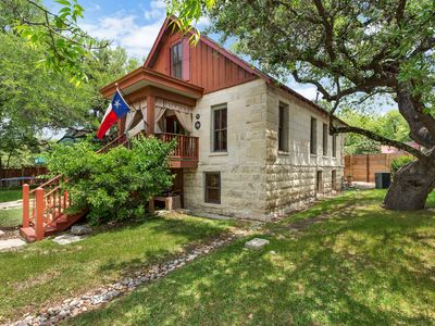 Photo for 1890's Historic Texas stone cabin