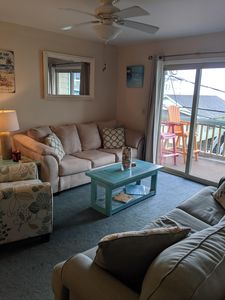 Photo for BEAUTIFUL OCEAN VIEW CONDO STEPS FROM THE OCEAN AND BOARDWALK