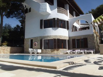 Photo for VILLA WITH POOL IN THE CENTER OF CALA D'OR, IDEAL FOR FAMILY HOLIDAYS