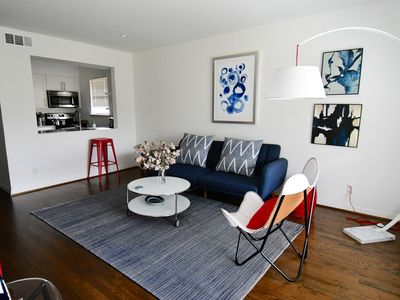 Photo for Cool Blue-King Bed- Parking - HP/Design Dist/Katy Trail/Uptown