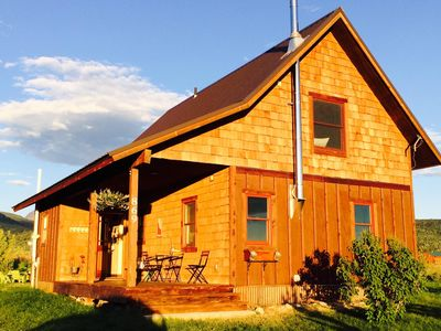 Sweet and charming Victor home on three acres with Teton views!
