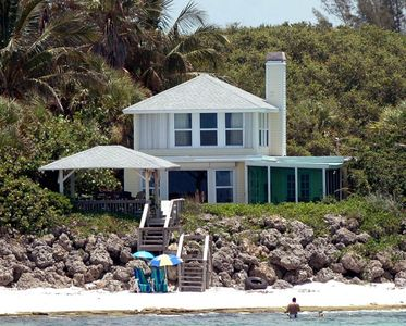 Photo for Charming Gulf front 1916 Siesta Key Beach House with Gazebo