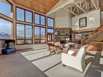 Photo for Large private home with stunning views of Lake Dillon. Private hot tub. 503