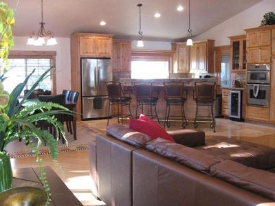 Photo for Luxury Custom Home at North Shore; Minutes to Northstar;  Walk to Beach