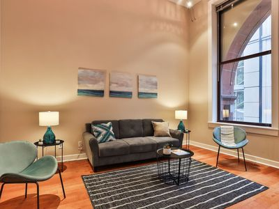 Photo for Historic + Spacious  Downtown 2BR Apt
