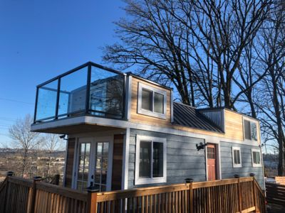 Photo for Experience tinyhome living + Big City Views by JET