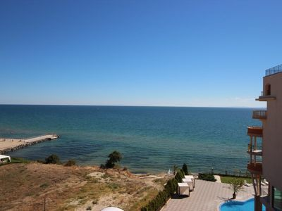 Photo for Holiday apartment Sveti Vlas for 4 persons - Penthouse holiday apartment