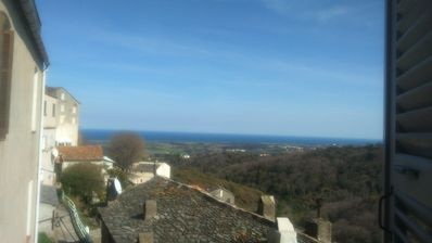 Photo for Old house in the village of Castellare Di Casinca with sea view