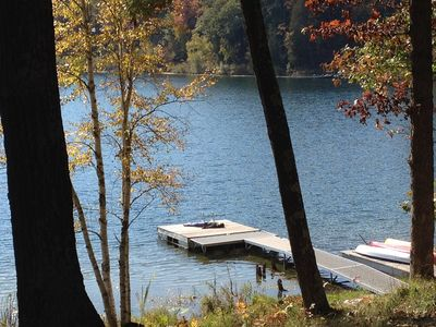 Photo for Beautiful Cottage on Private Lake close to Manistee