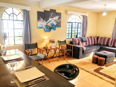 Photo for Modern 1 BR luxe apartment in the heart of Karen