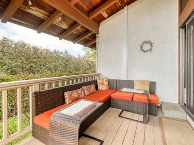 Photo for Incredible ocean view home w/ a private hot tub & lanai - close to everything!