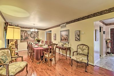 The vacation rental home is located in Memphis, Tennessee!