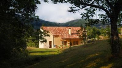 Photo for Comfortable villa (8 p) Désaignes; house with character North of Ardèche
