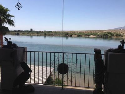 Photo for Bullhead City Riverfront  Rental 4 Bedroom 3 Baths W/ Sandy Beach & private dock