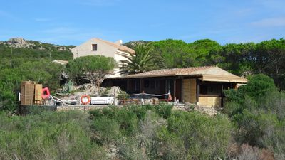 Photo for Villa Eleonora in the green with sea view and tennis court