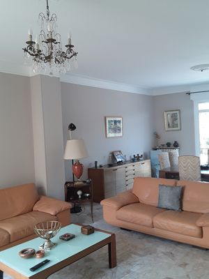 Photo for Large air-conditioned apartment 3 bedrooms, patio, parking spaces Perpignan center 150m2