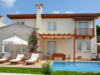 Photo for Luxury 3 Bedroom Villa with Private Pool & Sea Views - Very Family Friendly