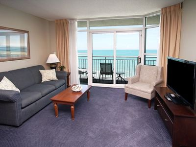 Carolinian Resort 732 - 2 Bedroom Condo - Oceanfront Balcony - Great Amenities
