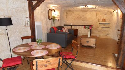Photo for The Troglodyte lodging of Léonard is in the middle of the historical center of Amboise