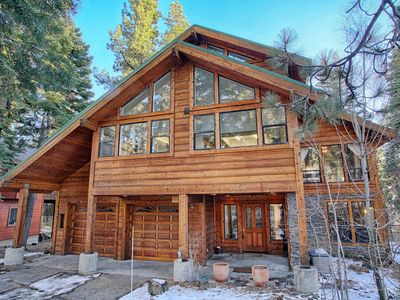 Photo for Mountain Retreat w/Hot Tub and Game Room, Near Squaw/Alpine/Northstar