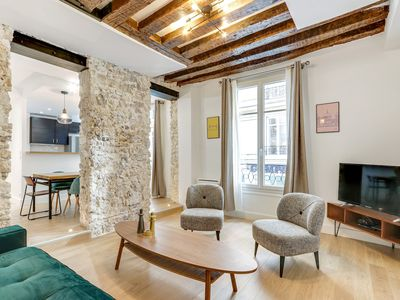 Photo for An Exceptional 2-BDR/2BR in Le Marais