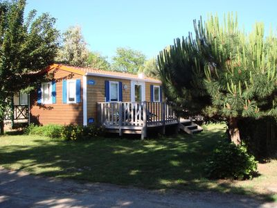Photo for Camping Bosquet ** - Tent 5 people - 4/5 places, eco lodges without sanitation (2015)