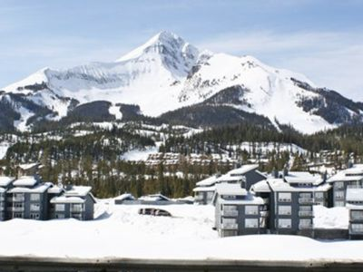 Photo for Big Sky 3BR Condo at Base of Lone Peak Mountain