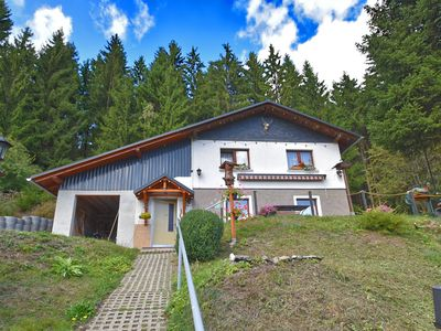 Photo for Alluring Holiday Home in Stutzerbach Thuringia with Terrace