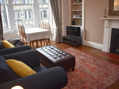Photo for Beautiful 2BR apartment in Central Edinburgh