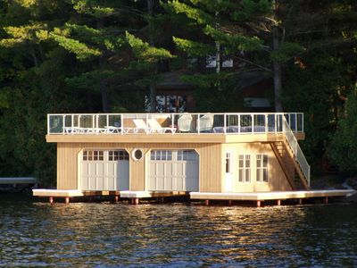 Photo for Beautiful Sunsets, kayaks,SUP,canoe,Outdoor Living on Boathouse, Docks, Playset