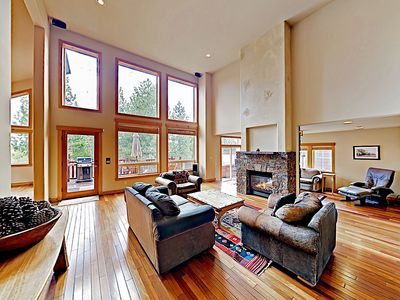 Photo for New Listing! Spacious Tahoe Donner Basecamp w/ Hot Tub - Near Outdoor Fun