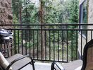 Private balcony with propane grill
