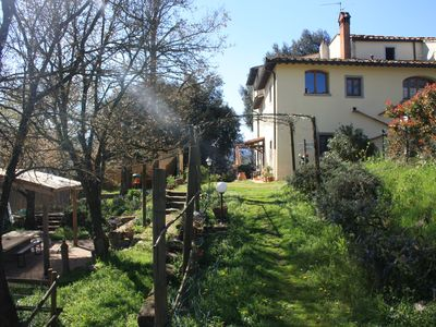 Photo for Holiday apartment near Florence 'Refuge of  Fairies', countryside.