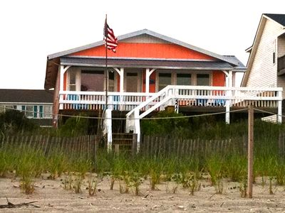 Photo for Gorgeous Renovated Beach Cottage Right On The Ocean! Sleeps 6