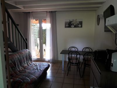 Photo for Duplex cottage for 4 people (40m2) facing the pool