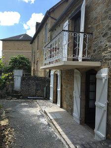 Photo for SARLAT 5 MIN FROM THE CENTER MEDIEVAL CHARMING STONE HOUSE WITH GARDEN
