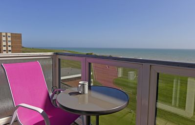 Photo for Private balcony with sea views