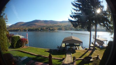 Photo for BEST VIEWS ON THE LAKE !!!  Dock Space. Close to LG village