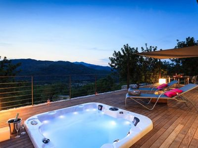 Photo for Finca Laia - Beautiful private villa located in Pollensa mountains with Jacuzzi