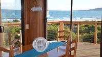 Great beach location and well equipped beach house.