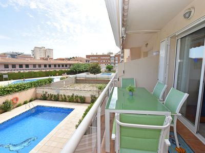 Photo for Clara Apartment, Sleeps 4 with Pool, Air Con and Free WiFi